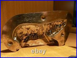 Bear Chocolate Mold Mould Molds Vintage Antique 4047