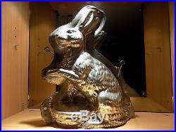 Big Bunny Easter Chocolate Mold Mould Molds Vintage Antique