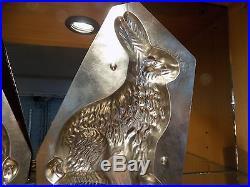 Big Bunny Hörnlein Chocolate Mold Molds Vintage Antique Canard