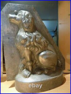 Big Dog Sommet Chocolate Mold Mould Schokoladenform Vintage Antique