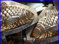 Big Fish Chocolate Mold Mould Schokoladenform Molds Vintage Antique
