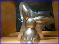 Bunny Chocolate Mold Molds Vintage Antique N/3103