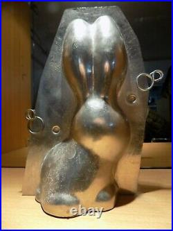 Bunny Chocolate Mold Molds Vintage Antique N/3110
