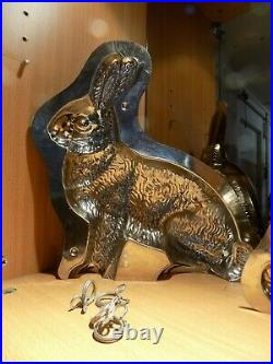 Bunny Chocolate Mold Molds Vintage Antique N/3141