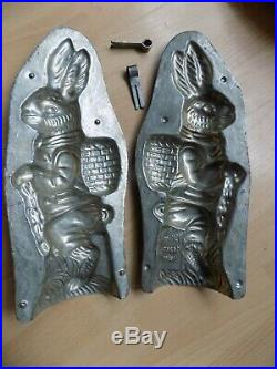 Bunny Easter Chocolate Mold Mould Big Bunny! Antique Heris