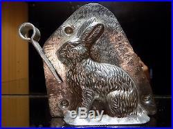 Bunny Rabit Chocolate Mold Mould Anton Reiche Molds Vintage Antique