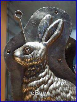 Bunny Rabit Chocolate Mold Mould Anton Reiche Molds Vintage Antique N/5264