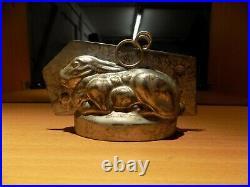 Bunny Sommet Chocolate Mold Mould Schokoladenform Vintage Antique