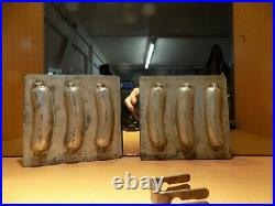 CHOCOLATE sausage SOMMET MOLD MOULD VINTAGE ANTIQUE