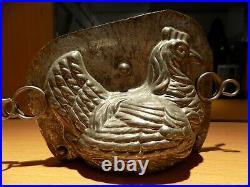 Chicken Anton Reiche Dresden Chocolate Mold Molds Vintage Antique 16536