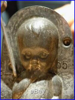 Chocolate Anton Reiche Baby Mold Mould Vintage Antique