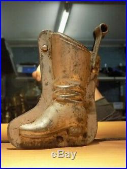 Chocolate Anton Reiche Boot 9758 Mold Mould Vintage Antique