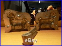 Chocolate Anton Reiche Dog 6881 Mold Mould Vintage Antique