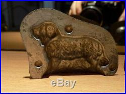 Chocolate Anton Reiche Dog Mold Mould Vintage Antique