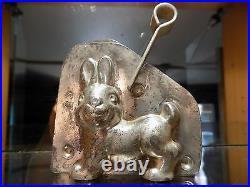 Chocolate Anton Reiche Dresden Bunny Rabit Mold Mould Antique N/24054