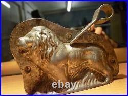 Chocolate Anton Reiche Leo 6869 Mold Mould Vintage Antique