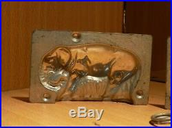 Chocolate Elephant 4591 Mold Mould Vintage Antique