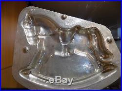 Chocolate Horse Mold Mould Vintage Antique