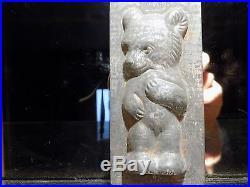 Chocolate Mold Anton Reiche Dresden Flat Mould Vintage Antique Bear Cub