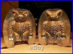 Chocolate Mold Bear Schokoladenform Molds Vintage Antique