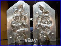 Chocolate Mold Mould Bunny Rabbit Vintage Antique