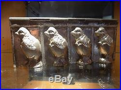 Chocolate Mold Mould Chick Vintage Antique Riecke & Co Bergisch Gladbach