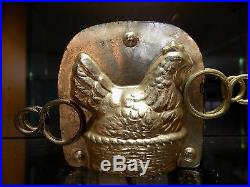 Chocolate Mold Mould Chicken Vintage Antique