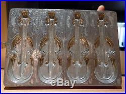 Chocolate Mold Violin Molds Mould Vintage Antique