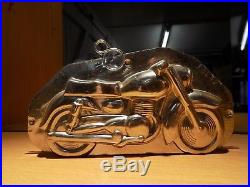 Chocolate Motorcycle Mold Antique Mould Vintage N/16232