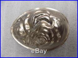 Chocolate Oeuf Egg Mold Mould Vintage Antique