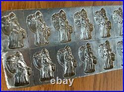 Chocolate mold antique mold Christmas Santa RARE
