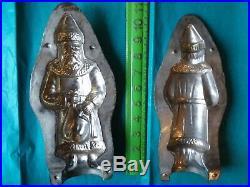 Chocolate mold antique mold Santa VERY RARE