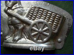 Chocolate mold antique mold candy mold Easter rabbit bunny