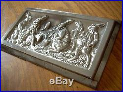 Chocolate mold candy mold antique mold Easter Rabbit Anton Reiche