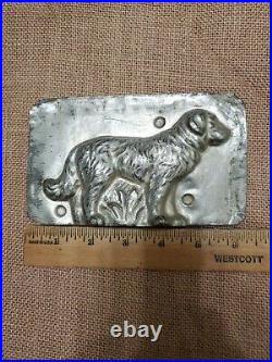 Collectable dog metal candy mold Vintage 4 804