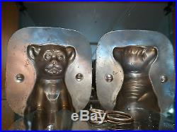 Dog Chocolate Mold Mould Molds Vintage Antique