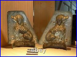 Dog Sommet Chocolate Mold Mould Schokoladenform Vintage Antique