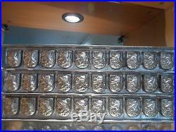 Flat Chocolate Monos Mold Mould Molds Vintage Antique