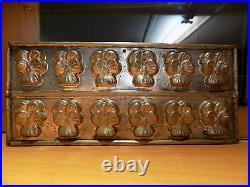 Flower Flat Chocolate Mold Mould Molds Vintage Antique