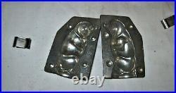H. Walter Berlin Germany Antique Metal Chocolate Mold Sitting Pig #5269