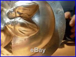 Heart Chocolate Mold Bonbonniere Mould Molds Vintage Antique N/15810