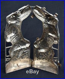 Large 21- Vintage Bunny/Rabbit Chocolate Mold. From the estate of a collector