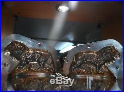 Leo Lion Chocolate Mold Mould Molds Vintage Antique