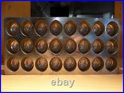 Mould Flat Chocolate Mold Vintage Antique