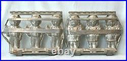 Pair Of Antique Weygandt Anton Reich Germany BRIDE & GROOM Chocolate Candy Mold
