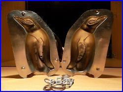 Pinguin Chocolate Mold Mould Schokoladenform Vintage Antique