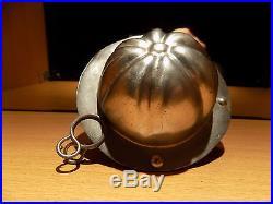 Pumpkin Chocolate Mold Molds Vintage Antique