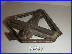 RAR Antike Schokoladenform FLUGZEUG antique chocolate mold PROPELLER PLANE #8094