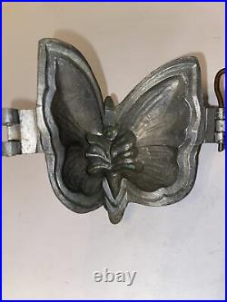 RARE Antique Chocolate Mold Candy Butterfly B. Keinke Hamburg Germany