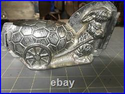 RARE Antique Chocolate Mold LARGE Easter Bunny Anton Reiche